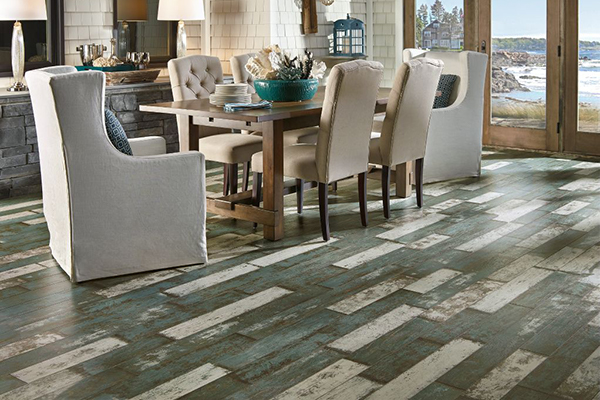 Armstrong Laminate, Architectural Remnants, Sea Glass Teal